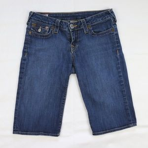 True Religion Sally Bermuda Carpi Jeans